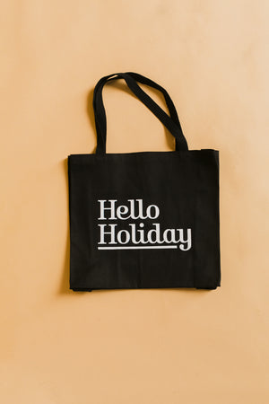 Hello Holiday Tote