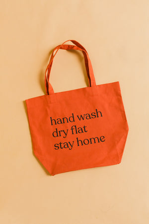 Care Instructions Tote