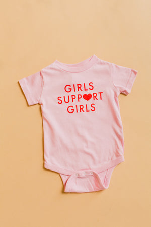 Girls Support Girls Onesie