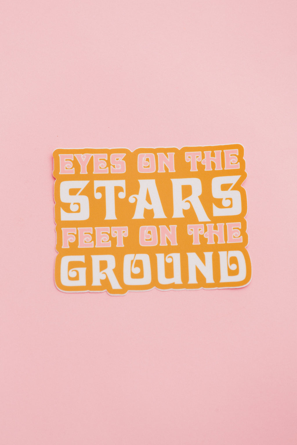 Eyes On the Stars Sticker