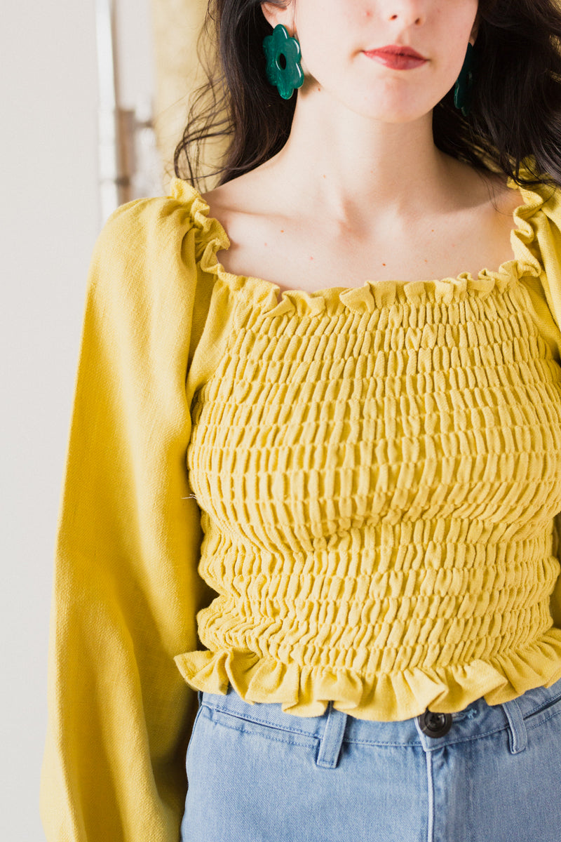 Daisy Blouse in Sunflower
