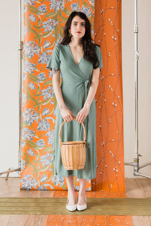 Ilana Dress in Robin's Egg