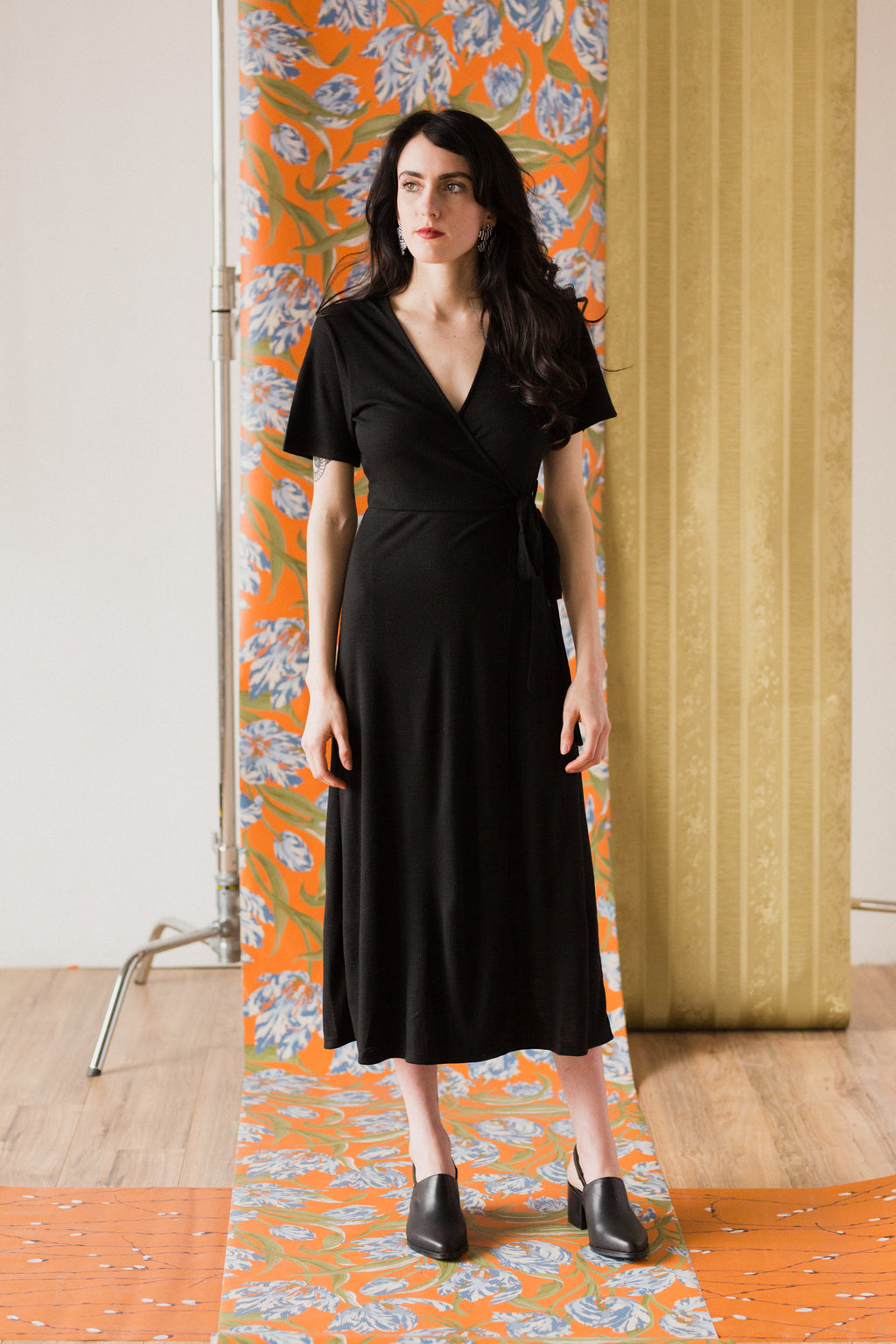 Ilana Dress in Black