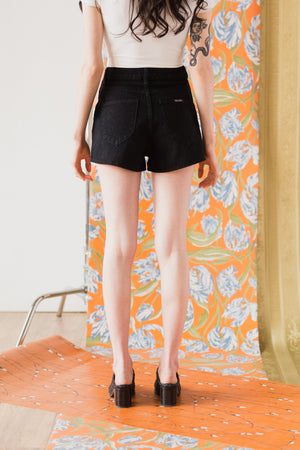 Dusters Short in Button Black
