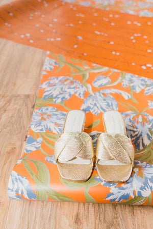 Tippy Demi Wedge in Gold