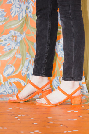 Kimi Sandals in Coral