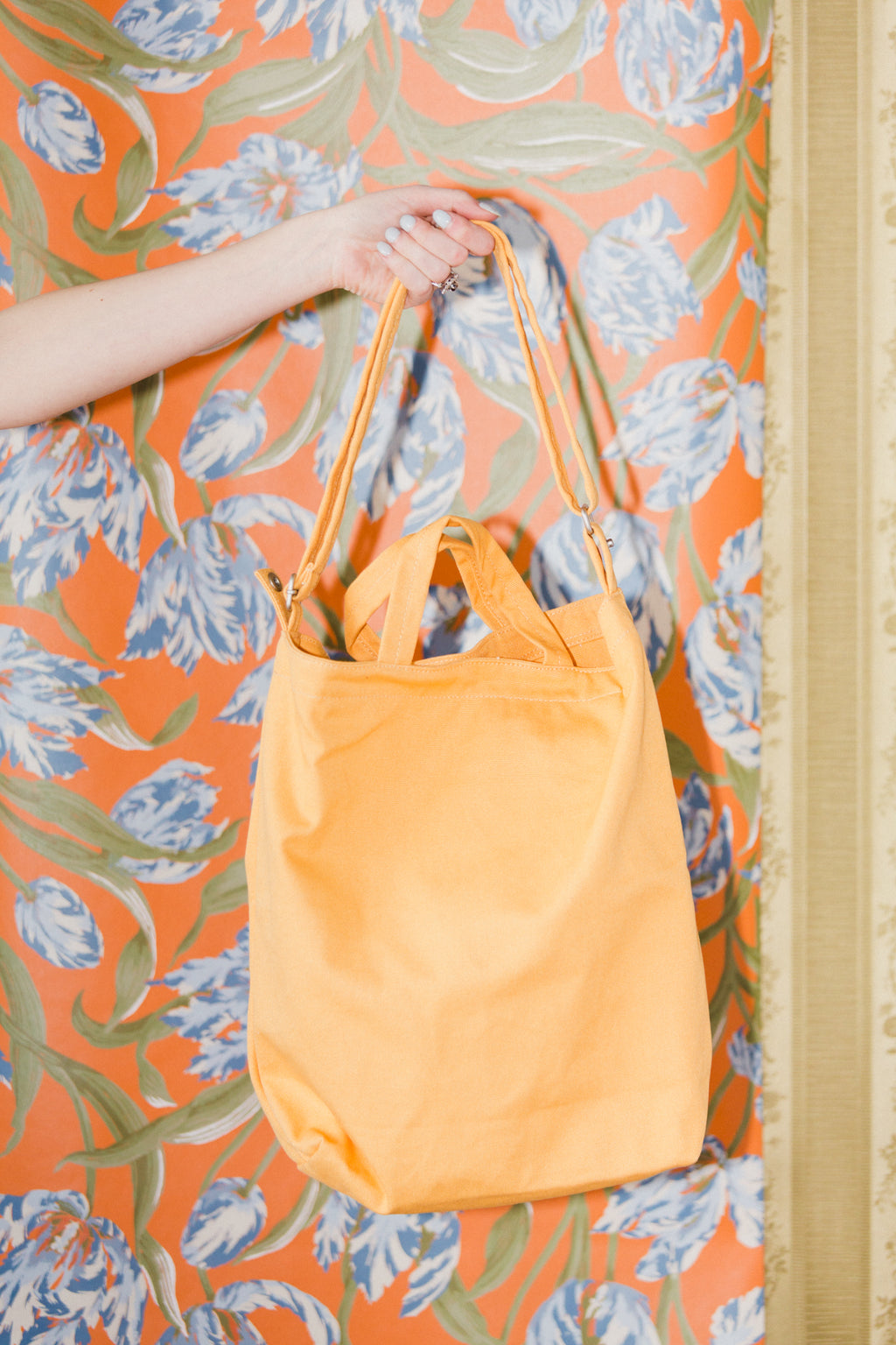 Duck Bag in Apricot