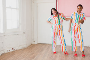 Salvation Stripe Coveralls
