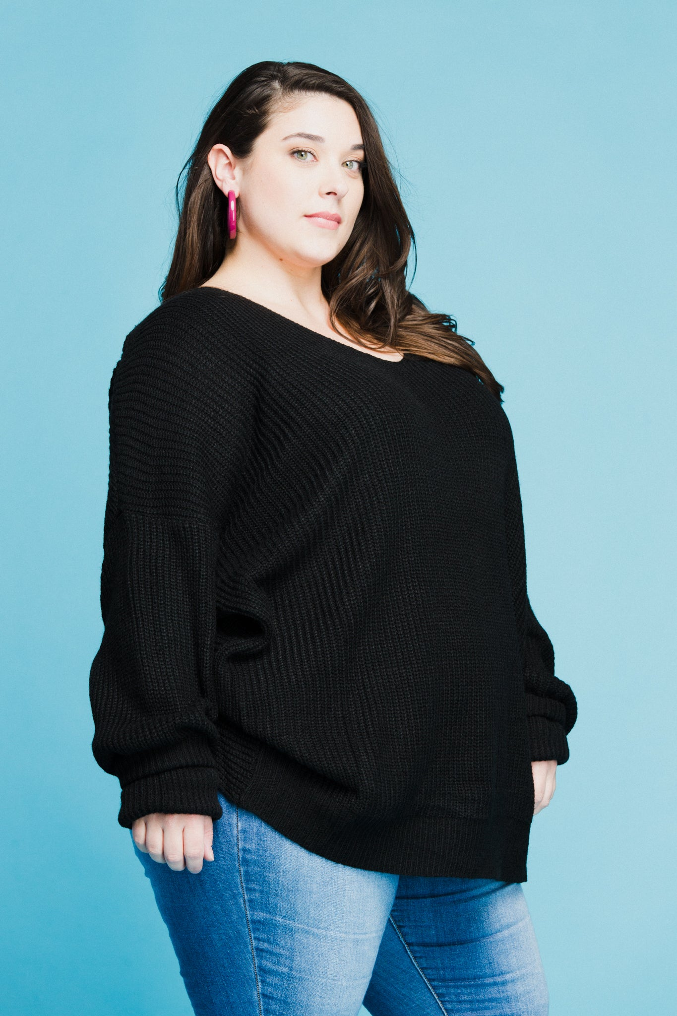 Carmella Sweater in Black