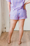 Indigo & Pink Sleep Shorts
