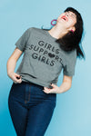 Girls T-Shirt in Gray