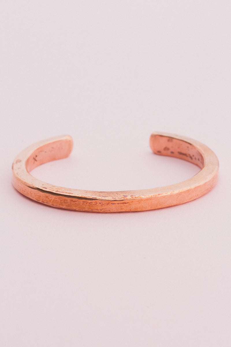Copper Heavyweight Classic Cuff Bracelets Studebaker Metals - Hello Holiday