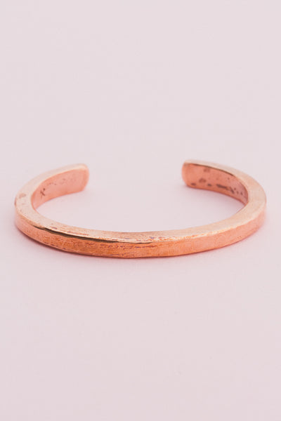 Copper Heavyweight Classic Cuff