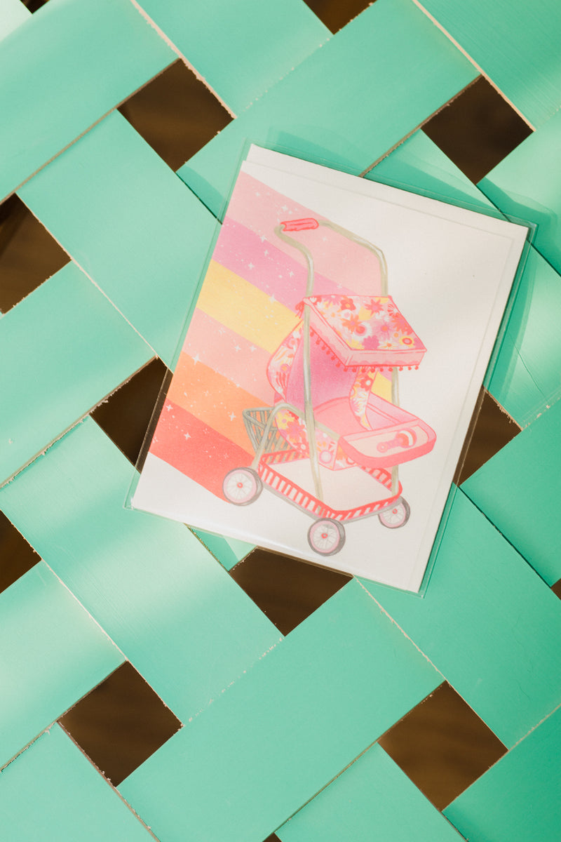 Magical Stroller Card