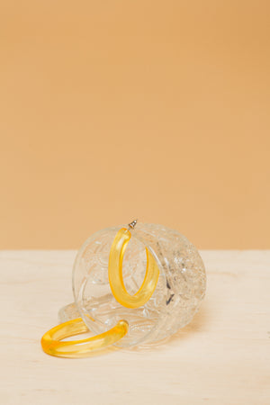 Form Hoops in Lemon