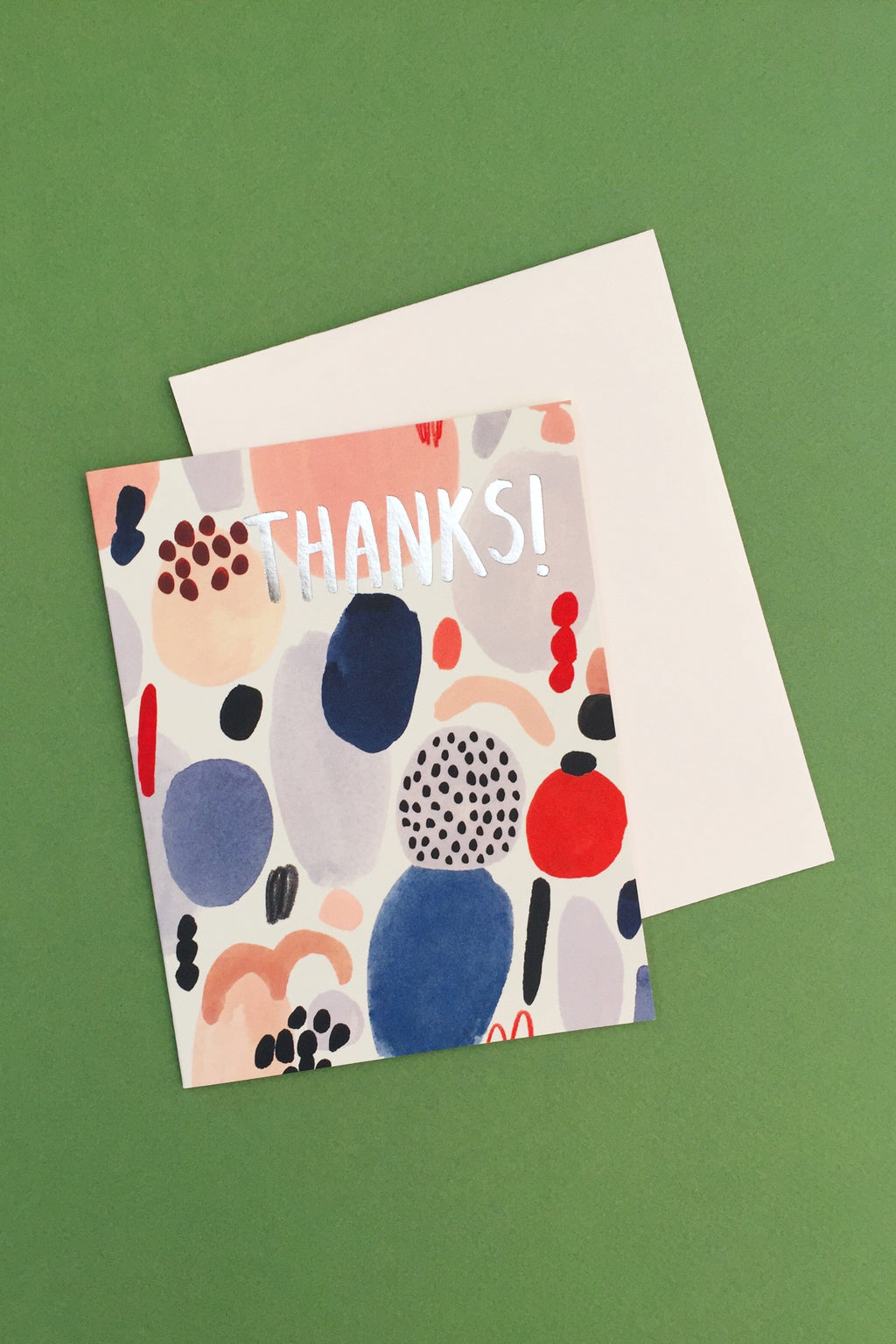 Paint Palette Thank You Card Cards Red Cap Cards - Hello Holiday