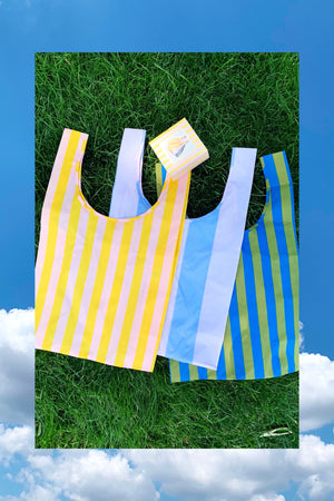 Standard Baggu Set of 3 in Leisure Stripes