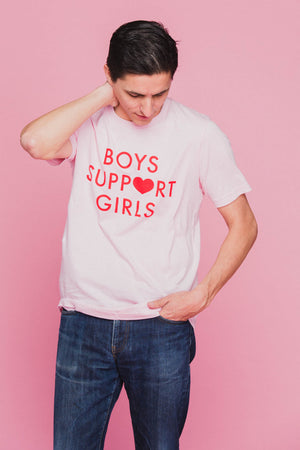 Boys Support Girls Tee T-Shirts Daisy Natives - Hello Holiday
