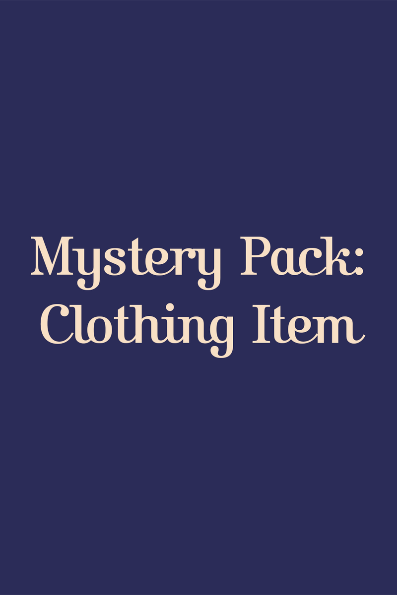 Mystery Pack: Clothing