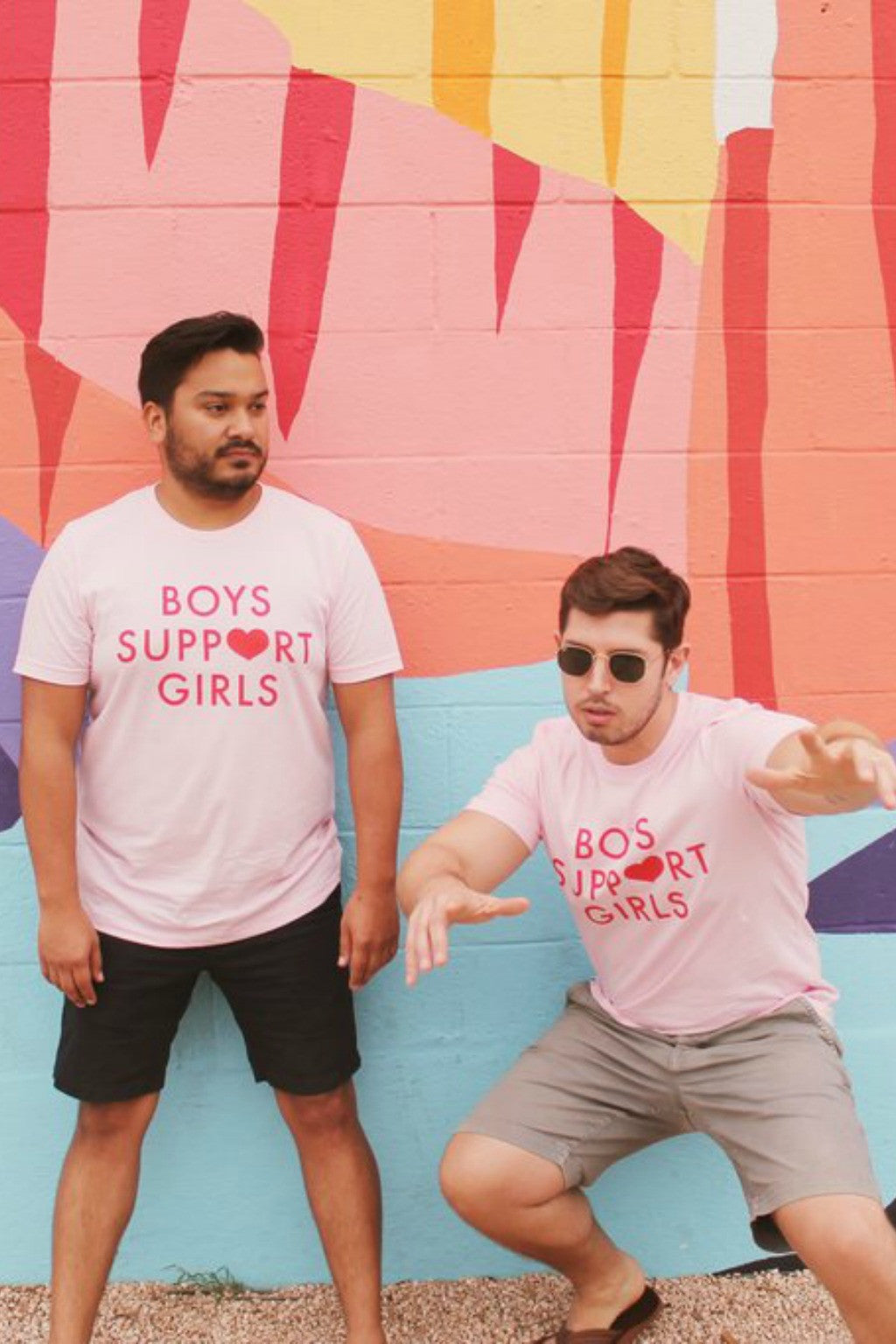 Boys Support Girls Tee