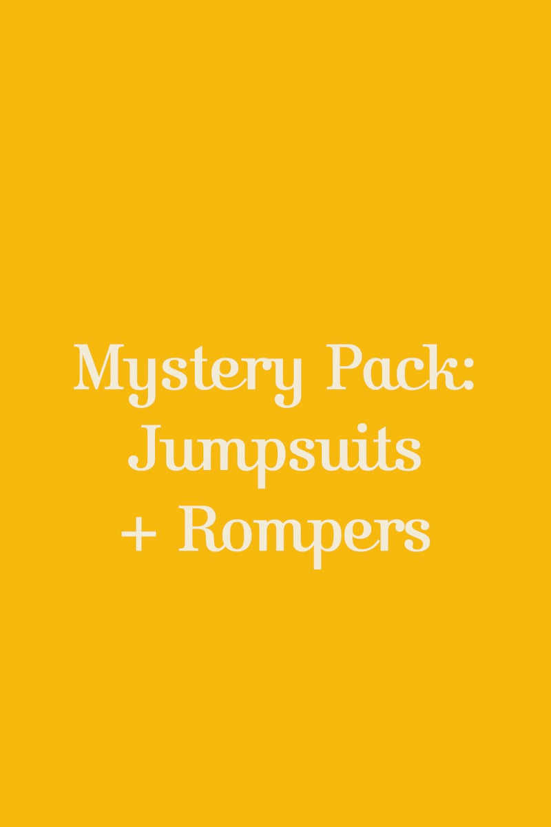 Mystery Pack: Jumpsuits + Rompers