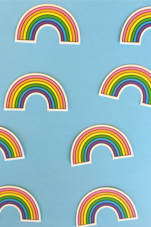 Rainbow Sticker Accessories Daisy Natives - Hello Holiday