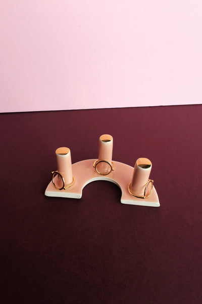 Triple Post Ring Holders
