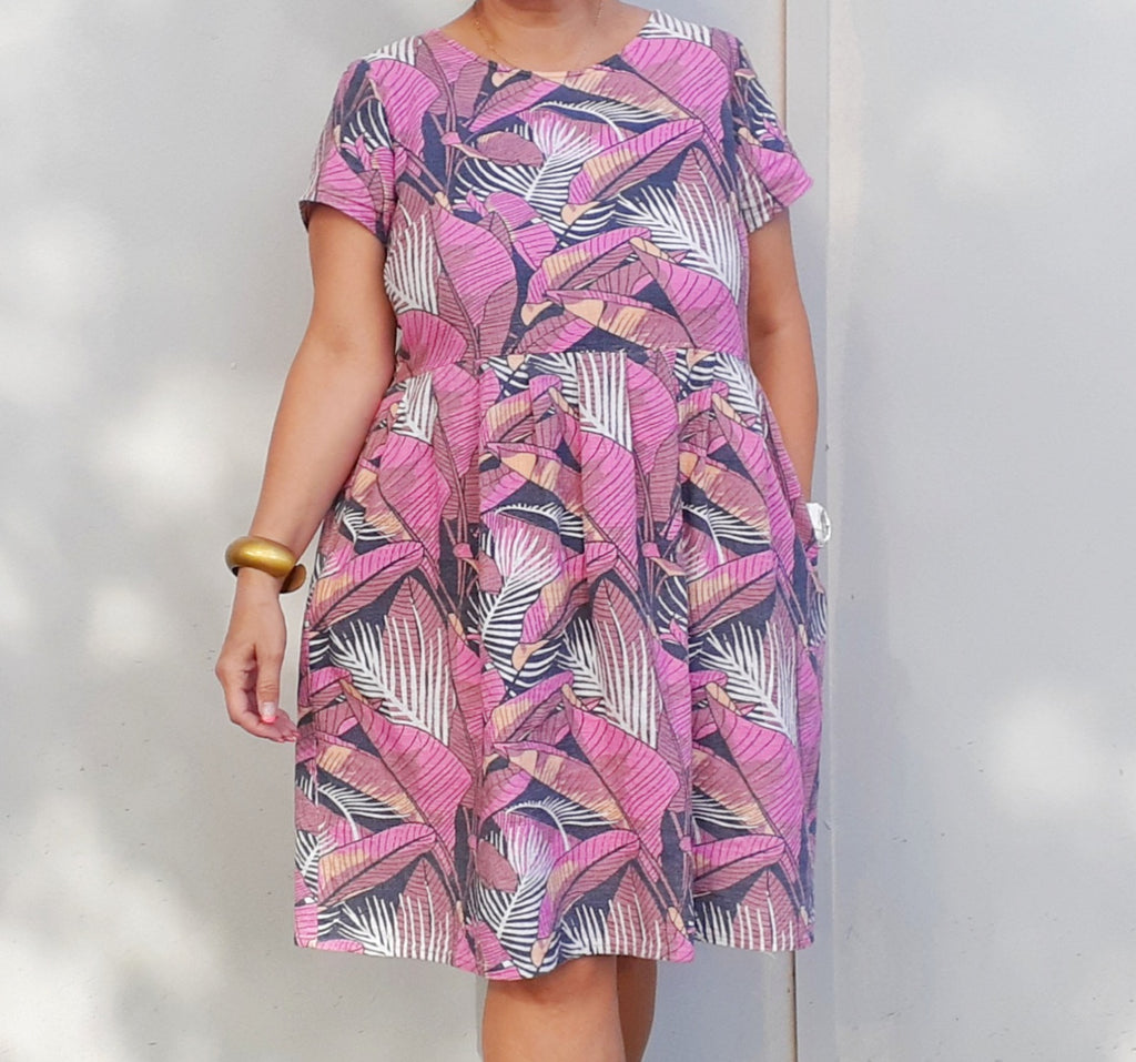 Nelly Wade Dress in Palm Bay Breeze
