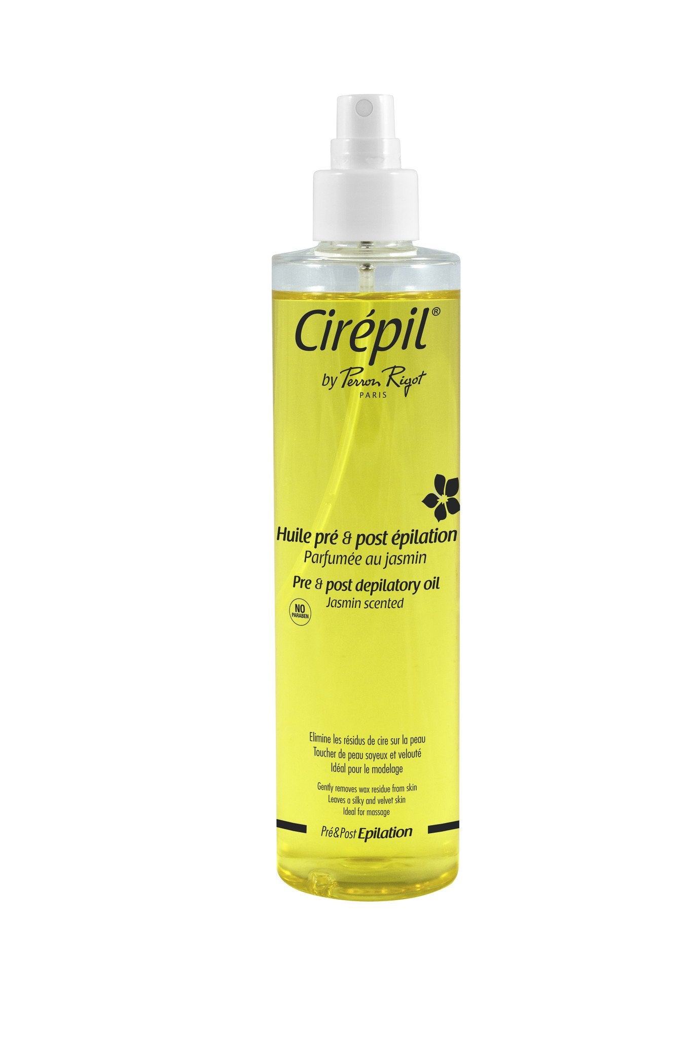 Cirepil Pre-Depilatory Oil - Paraben Free Jasmine Scented