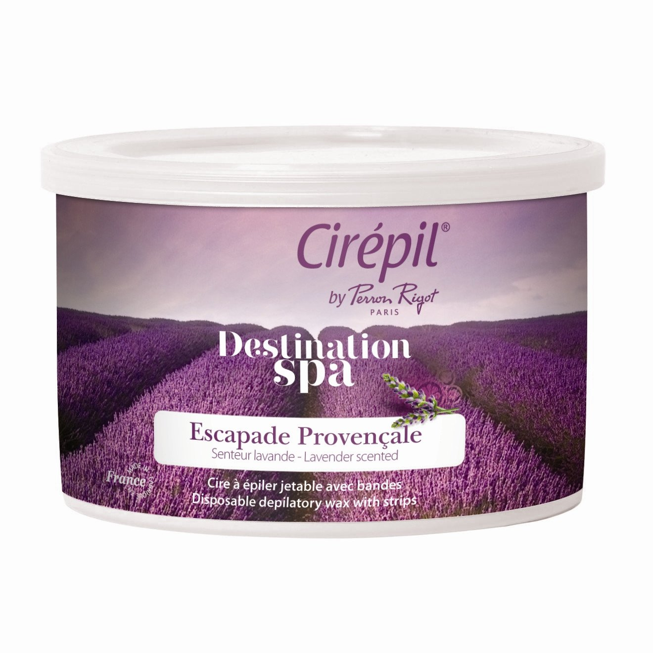 Cirepil Destination Spa Escapade Provencale (Lavender): 400g Tin