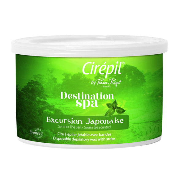 Cirepil Destination Spa Excursion Japonaise (Green Tea): 400g Tin