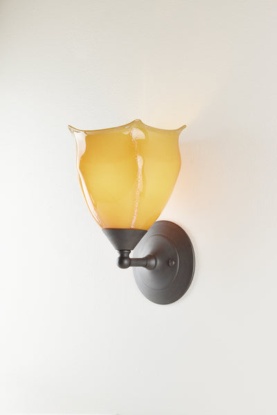 Seaflower Glass Sconce