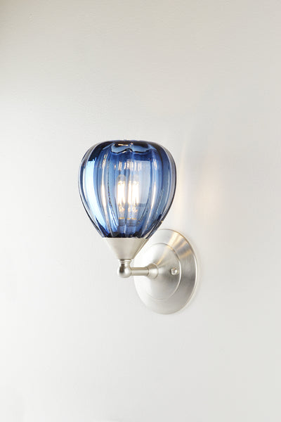 Mirage Glass Small Teardrop Sconce