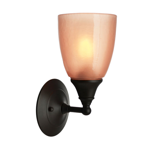 River Glass Acacia Sconce, Copper