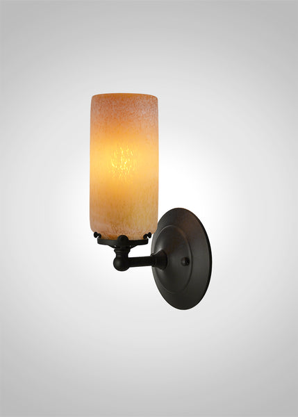 Prairie Spotted Cylinder Acacia Sconce