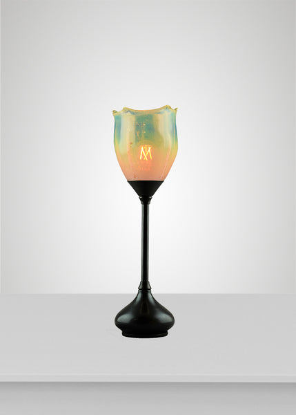 Seaflower Glass Acacia Table Lamp