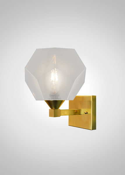 Quartz Glass Aspen Sconce