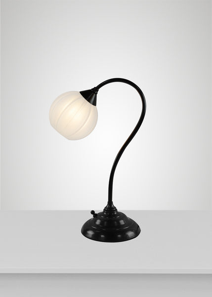 Mirage Glass Small Globe Calla Table Lamp