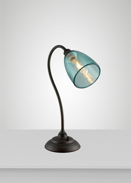 Clear River Glass Calla Lamp