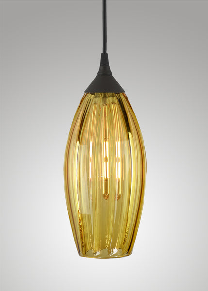 Mirage Glass Large Spindle Pendant