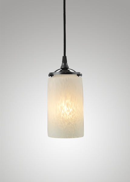Prairie Spotted Cylinder 3F Pendant
