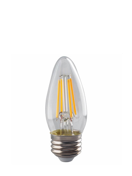 4W LED Torpedo Bulb, medium base