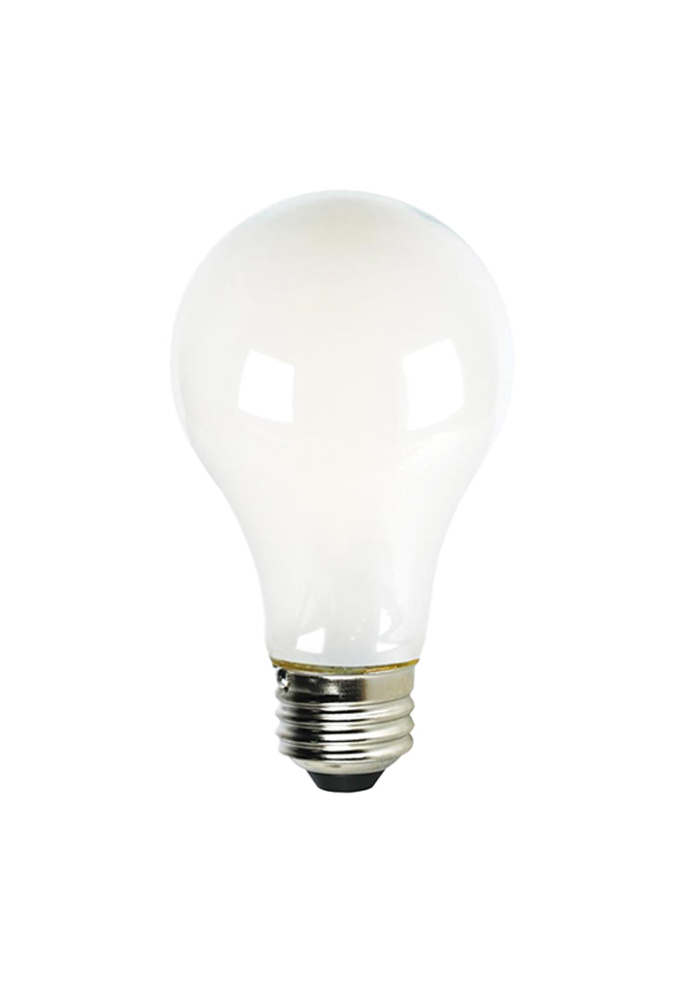 8W A19 LED Soft White, Medium Base