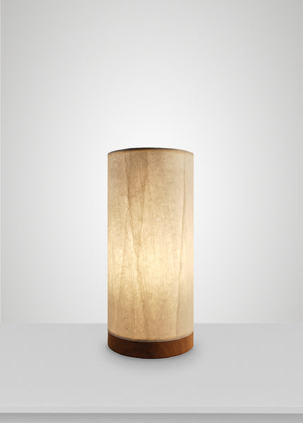 Tropic Paper Cylinder Table Lamp