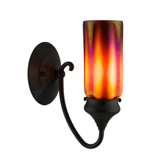 Whispy Prairie Cylinder Sconces, Optic