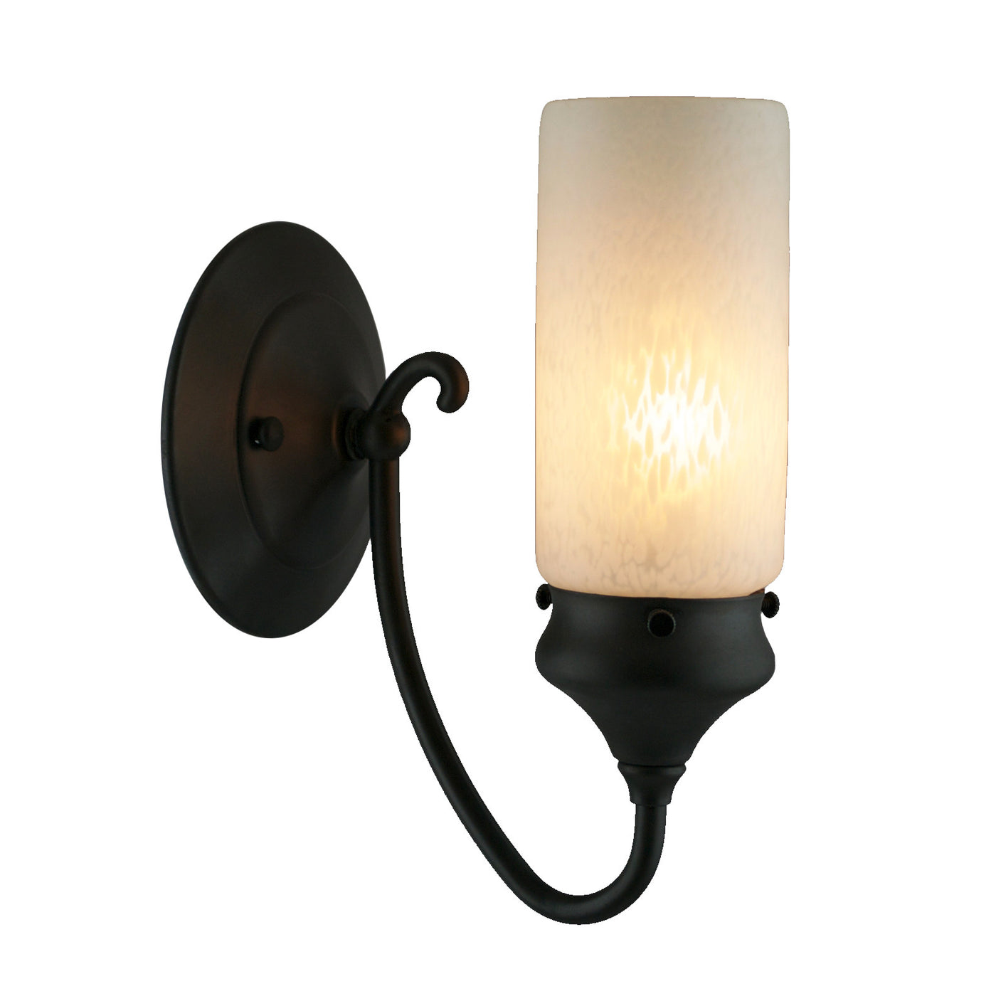 Prairie Cylinder Whispy Sconce