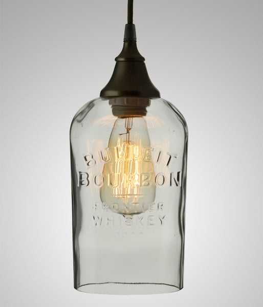 Bottle Pendant, Bulleit Bourbon