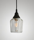 Bottle Glass Pendant, Makers Mark