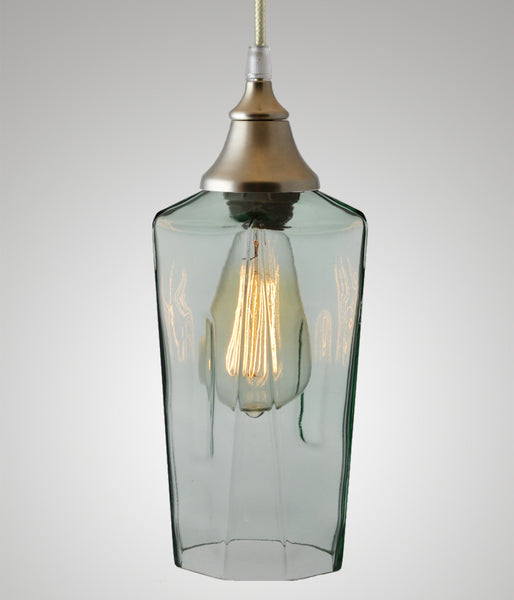 Bottle Glass Pendant, New Amsterdam