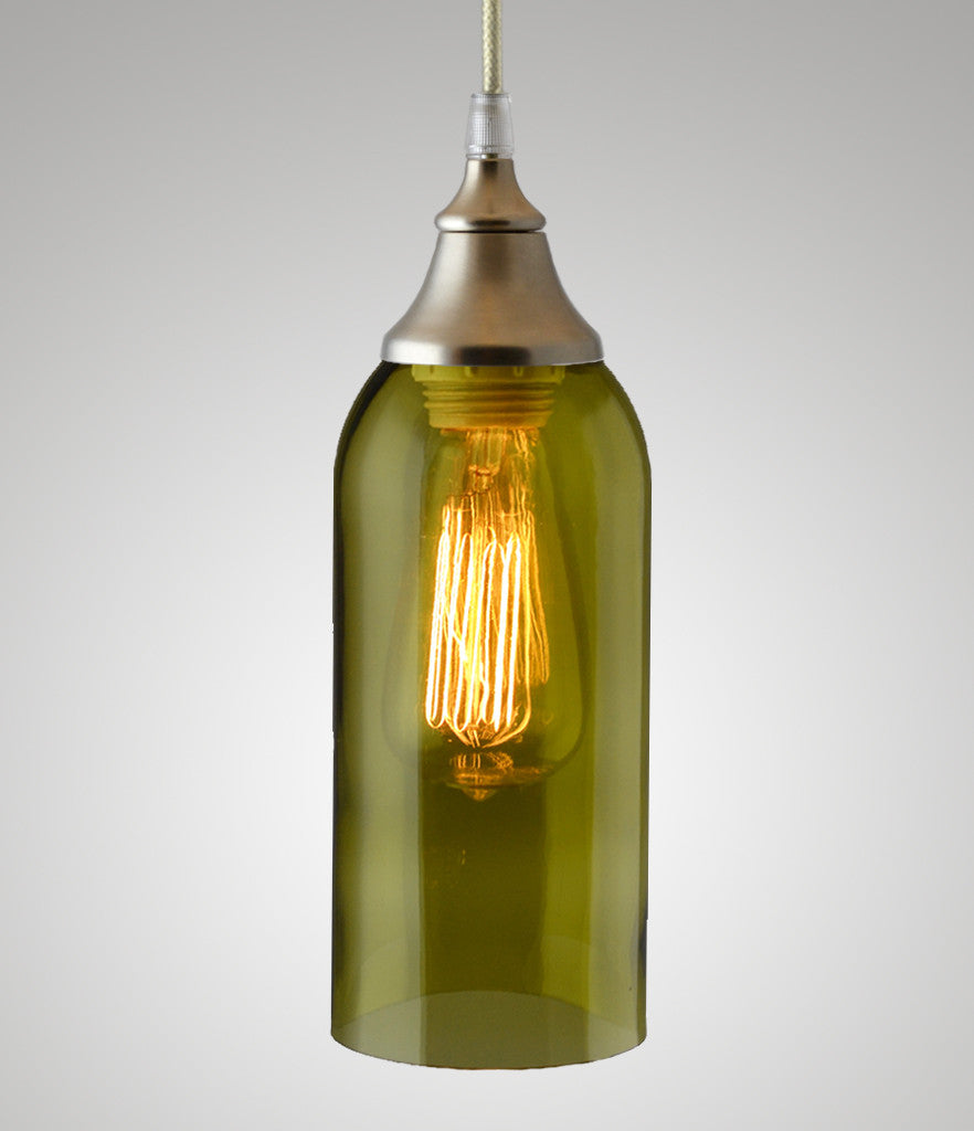 Bottle Pendant, Olive Wine